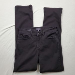 "NYDJ ""Marilyn"" Black Straight Leg Jeans 10"